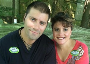 Brent Parkhill and Felicia Slattery, married 15 years